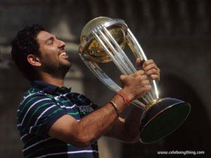 Award Winning moment of Yuvraj Singh | celebanything.com