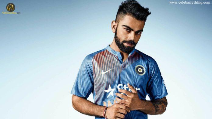 Virat Kohli - The King of Hearts, Virat Kohli, Anushka Sharma, captain of Indian | celebanything.com