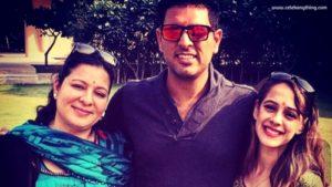 Family of Yuvraj Singh & Hazel | celebanything.com
