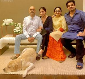 Anushka Sharma family | celebanything.com