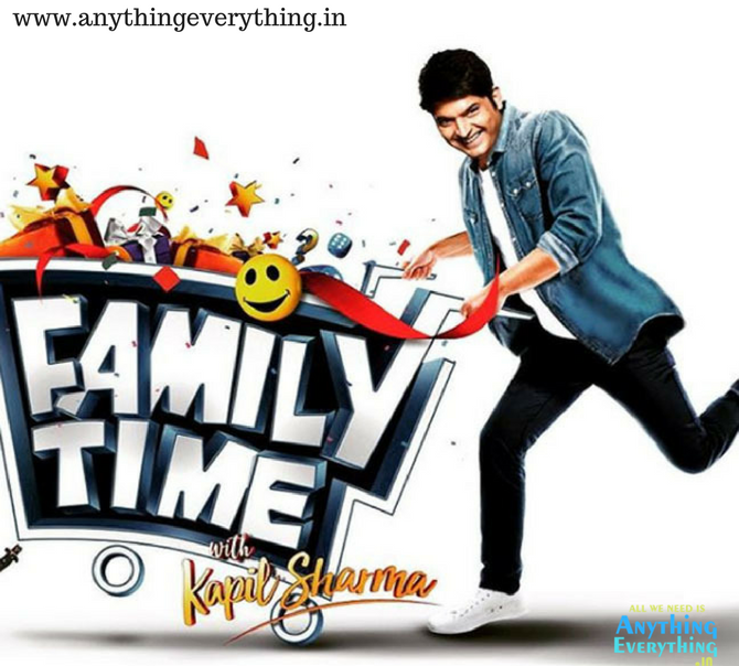 Family Time with Kapil Sharma: Comeback on Sony TV