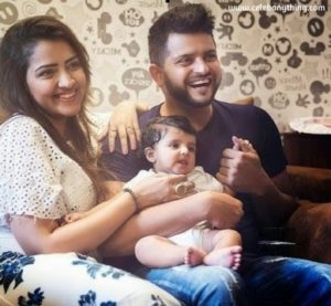 Suresh Raina family | celebanything.com