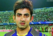 Gautam Gambhir net worth | celebanything.com