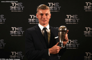 Toni Kroos Awards and recognitions | celebanything.com