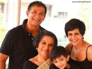 Mandira Bedi family | celebanything.com