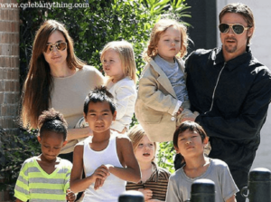 Angeline Jolie Family   celebanything.com