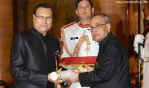 Rajat Sharma Awards And Recognitions | celebanything.com