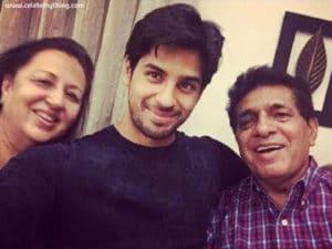 Sidharth Malhotra Family | celebanything.com