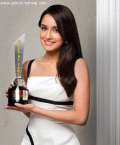 Shraddha Kapoor Awards and Recognitions | celebanything.com