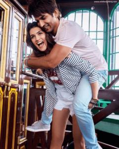 Sushant Singh Rajput with Kriti Sanon | celebanything.com