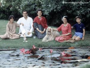 Rajiv Gandhi Family | celebanything.com