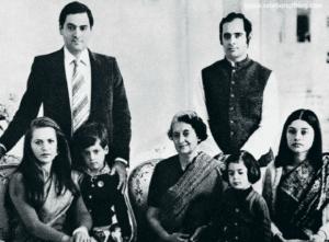 Indira Gandhi Family | celebanything.com