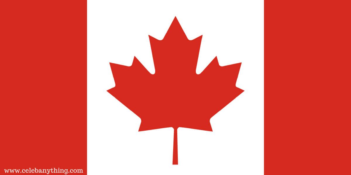Flag of CANADA_celebanything