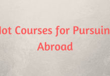 Hot Courses for Pursuing Abroad